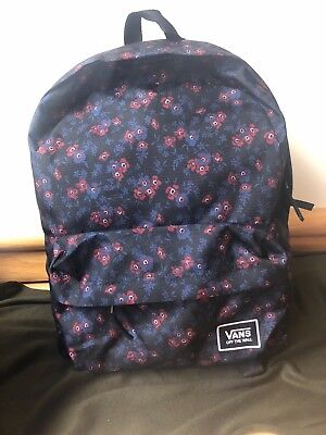678dc98d0f2f VANS OFF THE Wall Deana Eley Kishimoto Living Art Backpack Bookbag ...