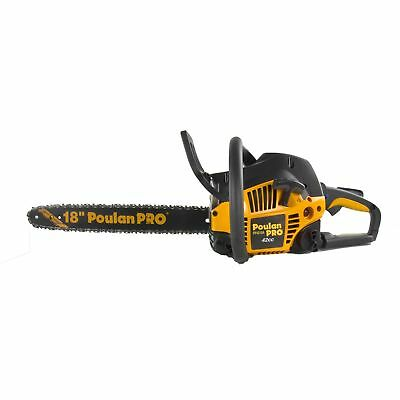 Poulan Pro PP4218A 18 Inch 42CC 2 Cycle Gas Chainsaw (Certified Refurbished)