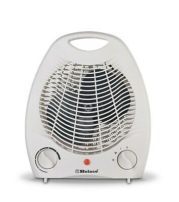 Electric portable upright fan heater 2 in 1 Cool Warm Hot wind Electric heater