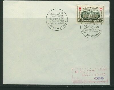 Morocco 1959 Red Cross Cover