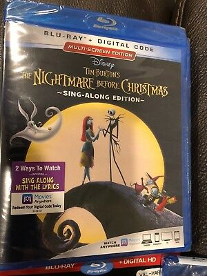 SALE BN The Nightmare Before Christmas (Blu-ray & Case ONLY) Disney Halloween