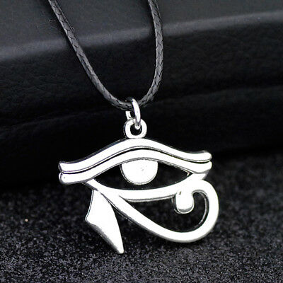 Cool Eye of Horus Pendant necklace Amulet Good luck