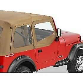 Bestop New Set of 2 Half Doors Front Jeep Wrangler 1988-1995 Pair