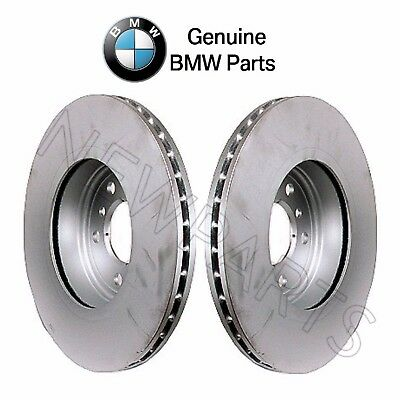 For BMW E83 X3 Pair Set of 2 Front Vented Coated 325mm Disc Brake Rotors Brembo