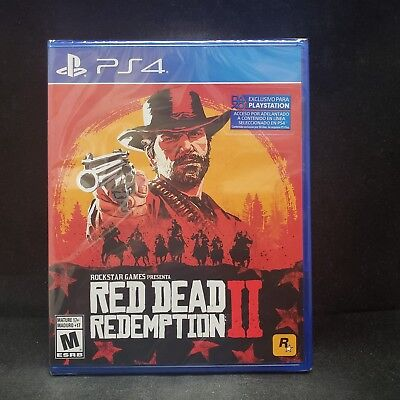 Red Dead Redemption II (2) (PS4) BRAND NEW/ LATAM /English / Spanish / French