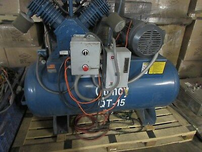 Quincy QT-15 Compressor and Tank used low hours