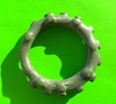 Authentic Celtic Ring Proto Coin Money - Rare / 4