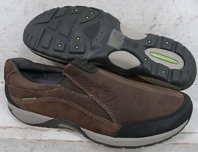 d91cc4ee32f NEW Clarks Mens Wave Frontier Brown Leather Slip On WTP Shoes 63410 sz mm  9.5 M