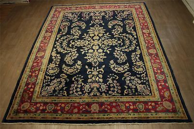 Real Oriental Rug Antique China Fine 250x350 cm Hand Knotted 100% Wool Blue