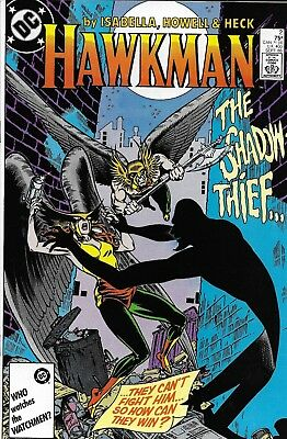 Hawkman Comic Issue 2 Copper Age First Print 1986 Isabella Howell Heck Wolfman