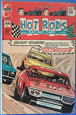 Hot Rods and Racing Cars No 120 Charlton June 1973 Jack Keller, Silver Age Comic