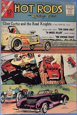 Hot Rods and Racing Cars No 62 Charlton March 1963, Jack Keller Silver Age Comic