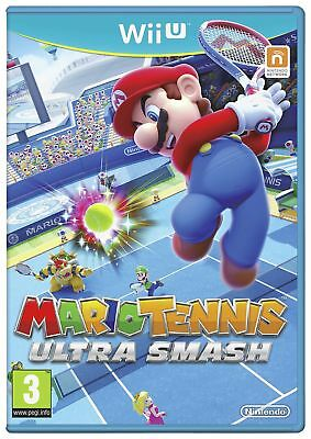 Mario Tennis Ultra Smash Nintendo Wii U 3+ Years