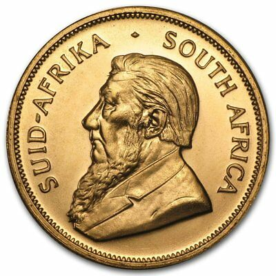1977 Gold Krugerrand South Africa, Uncirculated, 1 Ounce Gold