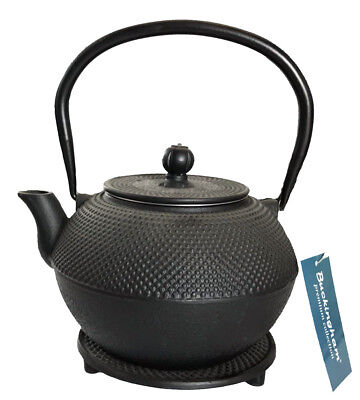 Buckingham Japanese Cast Iron Teapot Kettle Tea Pot Tetsubin Hobnail with Trivet