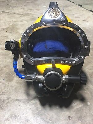 diving helmet Kirby Morgan excellent condition