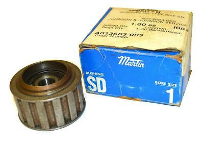 """New Martin Sprocket Sd Timing Pulley 1"""" Bore"""