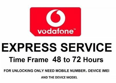 Factory Unlock Service VODAFONE UK Apple For iPhone X 8 7 Plus 7 6 6 Plus 5S SE