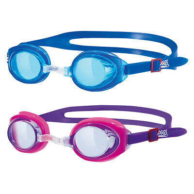 New Zoggs Little Twist Kids 0-6 Years Swimming Pool Goggles -Blue / Pink (300515