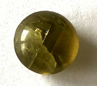 6.32 Ct Natural CATS EYE CHRYSOBERYL Loose Gemstone Round Cut Cabochon