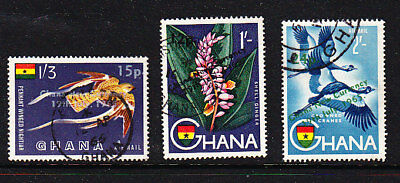 Ghana 1965 New Currency Overprints Used