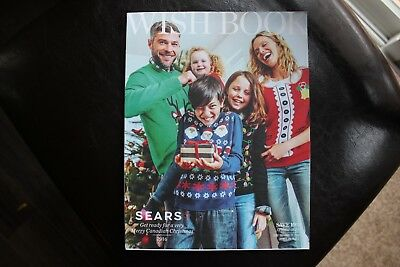 SEARS CANADA*Christmas 2016*Wish Book Catalogue*Wishbook*New & Sealed*Final Year