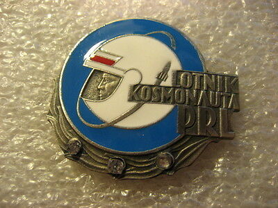 Poland Polish Air Force Badge Pilot Astronaut Cosmonaut