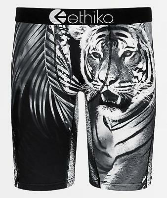 0a997ac2ddda Ethika Staple White Tiger Shere Khan Long Boxer Briefs Mens NWT SOLD OUT