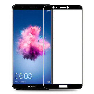 Genuine 3D Full Coverage Tempered Glass Screen Protector Film For Huawei P Smart