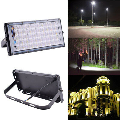 50W LED Flood Light IP65  Waterproof Outdoor Garden Super Bright Security Lamp