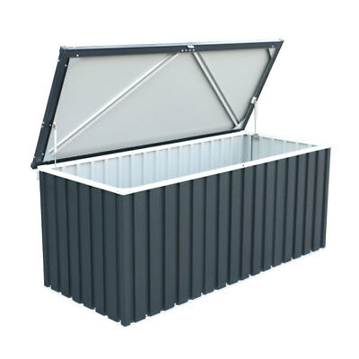 BillyOh Partner Hot Dipped Galvanized Steel Metal Garden Cushion Storage Box