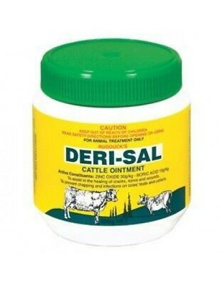 Rudducks Derisal Cattle Ointment for Cuts Abrasions Infection Cows 2kg (D0040)