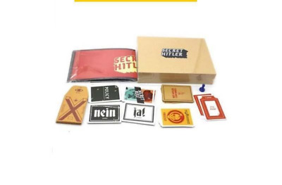 Secret Hitler-2018 Newest Cards Against Humanity Funny Party Adult Card Game