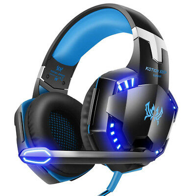 Stereo Gaming Headset MIC LED Headphones V3B for PC Mac Laptop PS4 PS3 Xbox one