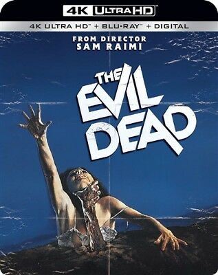 THE EVIL DEAD New Sealed 4K Ultra HD UHD + Blu-ray 1981