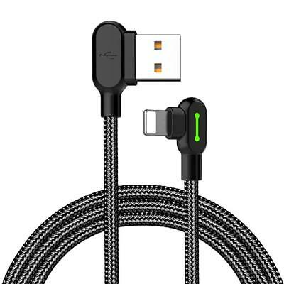 USB Charger Charging Data Sync Braided Cable for iPhone 6S 7 Plus 8 X USHK#