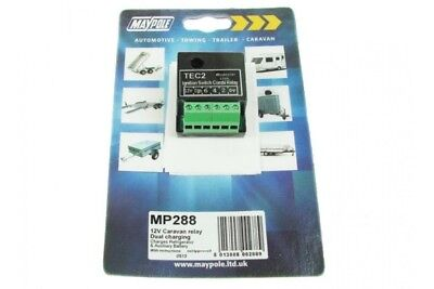 Dual Charging Charge Caravan Relay 12V Auxiliary Battery Mp288