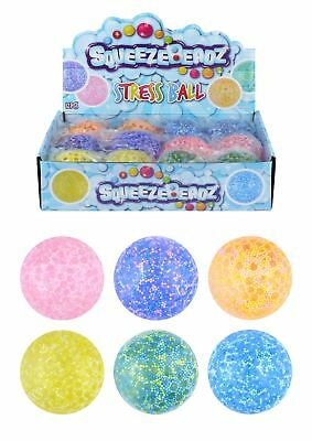 Squishy Snow Foam Beads Balls Putty Slime Stress Relief Kid Party Bag Filler Toy