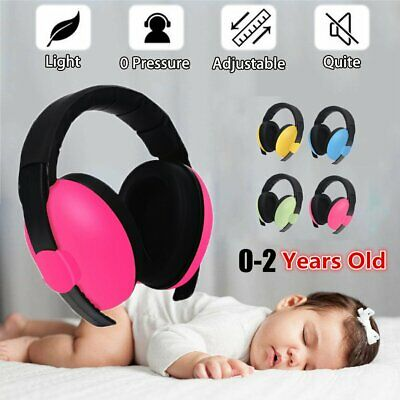 Child Baby Hearing Protection Safety Ear Muffs Kids Noise Cancelling Headphones