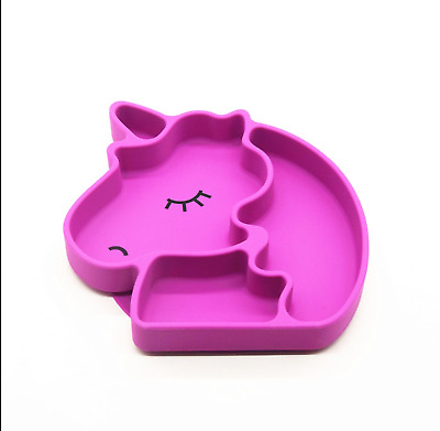 Unicorn Silicone Suction Plate for Toddlers & Babies