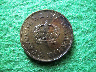 1938 Yugoslavia 2 Dinara - SCARCE Small Crown One Year Type - Free U S Shipping