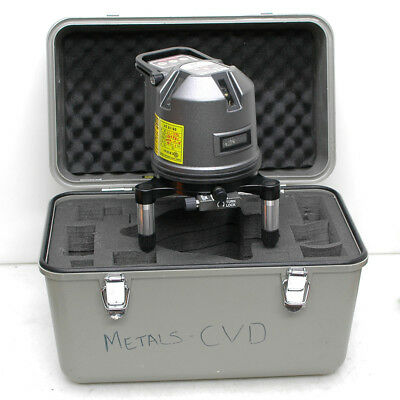 SL-333 5 Axis Self-Adjusting Laser Level Rotating Multi-Line 20 Meter With Case