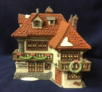 Department 56 DICKENS' VILLAGE MR. WICKFORD SOLICITOR  LAWYER ATTORNEY NEW MINT