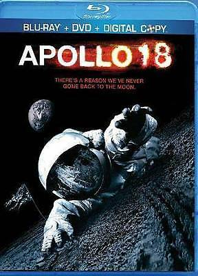 Apollo 18 (Blu-ray) DVD 2011 Sci-Fi, Warren Christie, Lloyd Owen, Ryan Robbins,