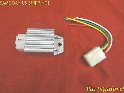 4 pin DC fired Voltage Regulator w/ repair plug GY6 50cc 125cc 150cc Scooter ATV