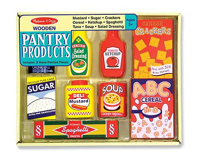 PANTRY FOODS DRY GOODS 4077 ~ Play Food ~ Melissa & and Doug