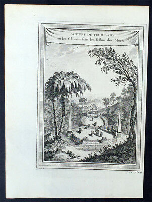 1755 Prevost & Schley Antique Print The Chinese Qingming or Ching Ming Festival