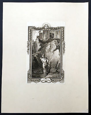 1784 T Stothard 3 x Antique Prints From Novel Tales of The Genii by James Ridley