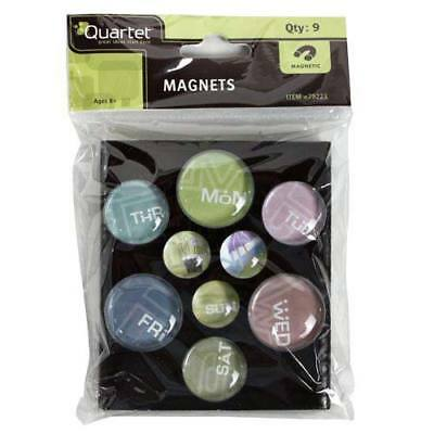 New Quartet Bubble Magnets - Day of the Week - Free Shipping