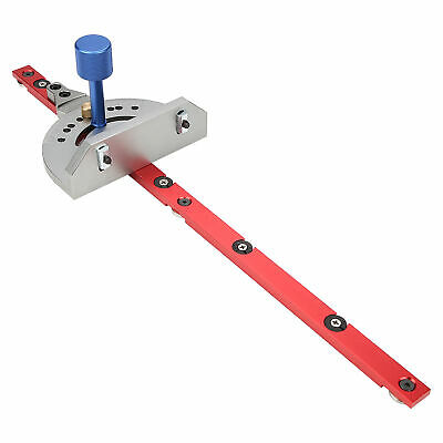 DIY General Router Miter Gauge Table Saw Ruler Woodworking Tool fd
